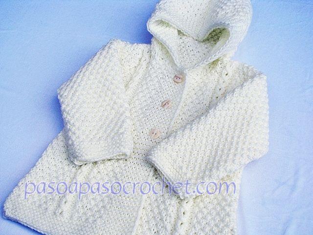 Talles del saquito – Paso a Paso Crochet