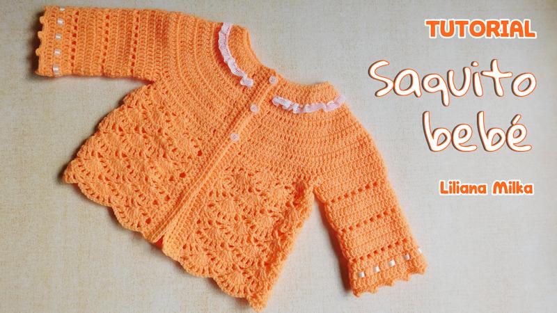 saco bebe – Paso a Paso Crochet