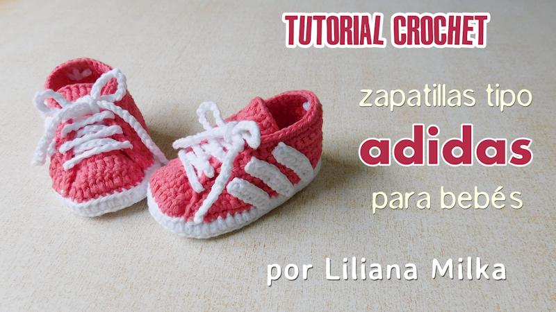 Zapatillas para bebes, inspiradas en la marca ADIDAS – Paso a Paso ...