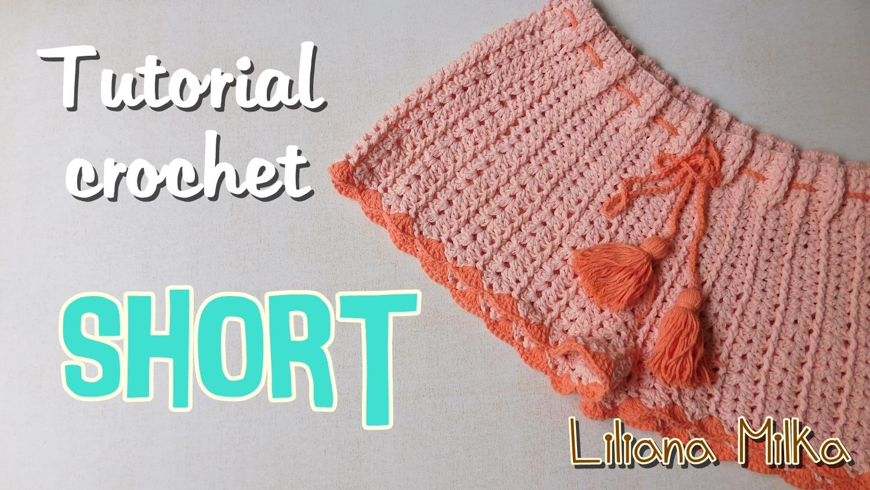 Short para mujer a crochet – Paso a Paso Crochet