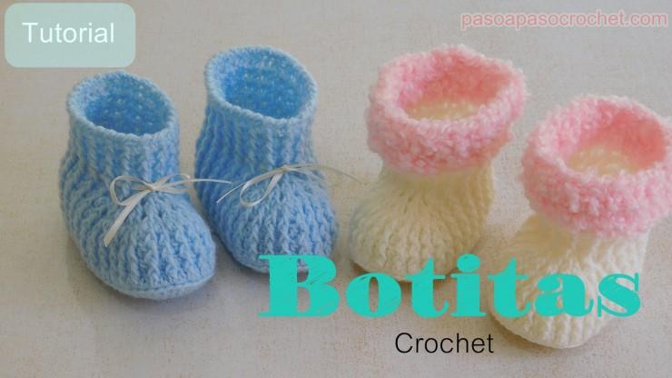 BOTITAS para bebes – Paso a Paso Crochet