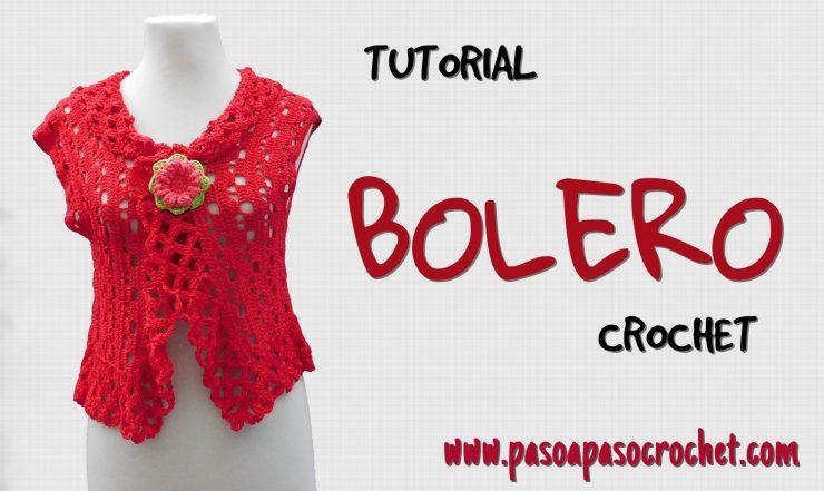 Bolero a crochet para mujer – Paso a Paso Crochet