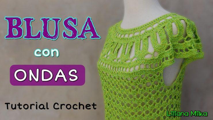 blusa crochet – Paso a Paso Crochet