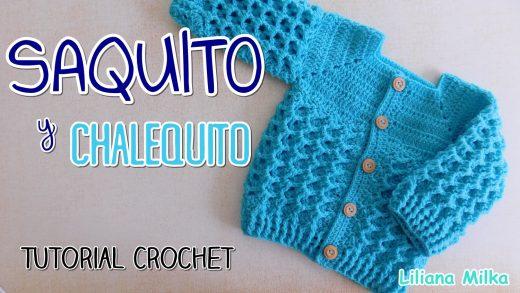 chaqueta bebe crochet – Paso a Paso Crochet