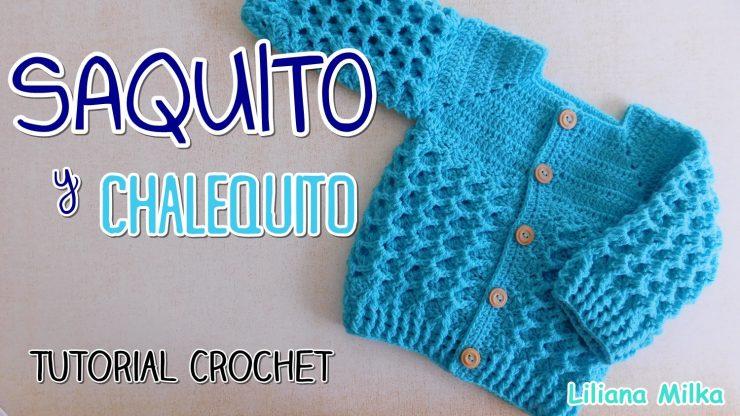 Chaqueta Bebe Crochet Paso A Paso Crochet