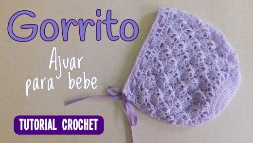 311867502e1b6 gorro bebe – Paso a Paso Crochet