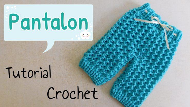Patron Crochet AJUAR: Pantalón – Paso a Paso Crochet