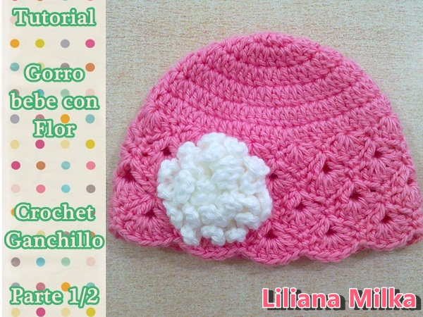 c4d5813c81ebf Gorro para bebe a crochet – Paso a Paso Crochet