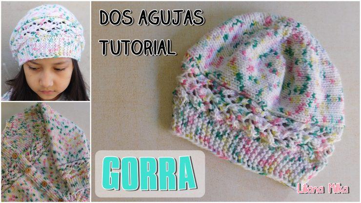 Gorro Tejido A Dos Agujas O Palitos Paso A Paso Crochet