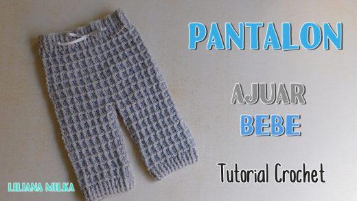 Como Tejer Un Pantalon Para Bebe Tejer Ideas