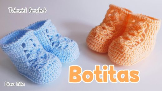 Botitas Crochet Paso A Paso Crochet