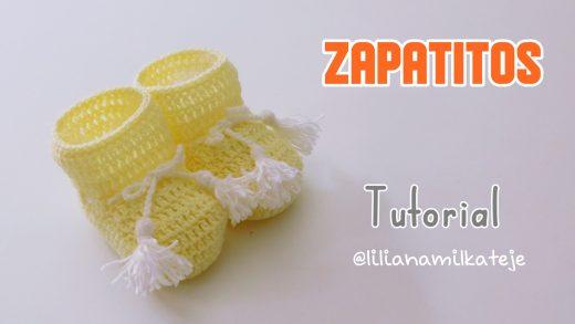 Zapatitos Crochet Paso A Paso Crochet