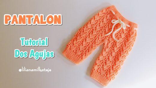 Pantalon Bebe Paso A Paso Crochet